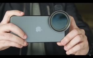 iPhone Sandmarc filtre objectif