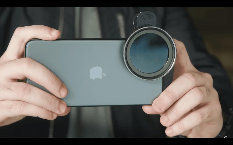 Le nouveau filtre ND variable de Sandmarc pour smartphones
