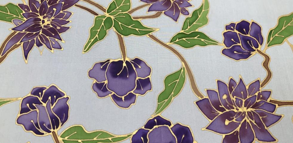 Creer son foulard en soie a Paris atelier d art