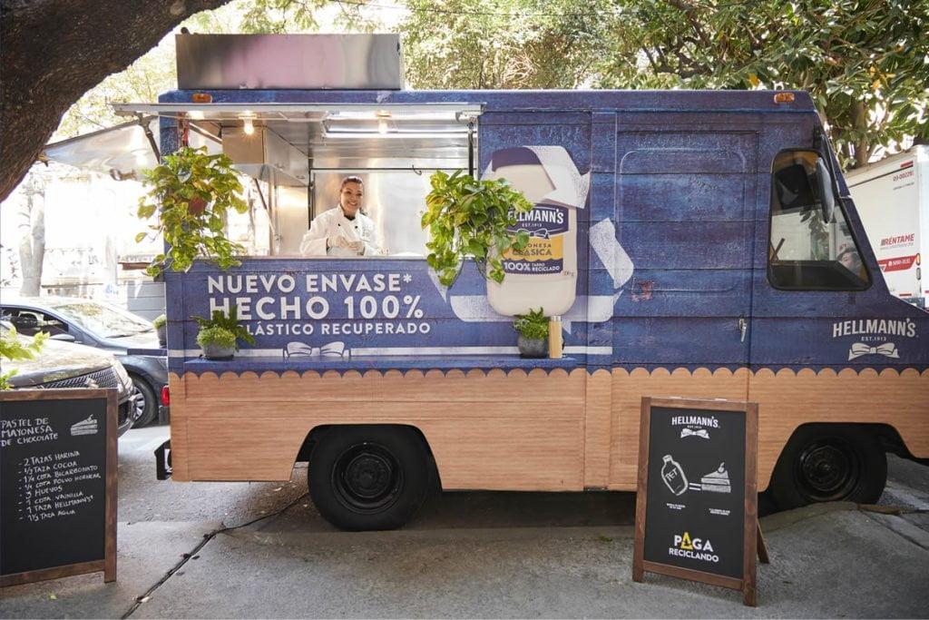 Food-Truck-Hellmanns sans gaspillage