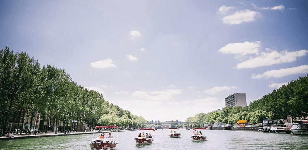 Marin d eau douce navigation Paris