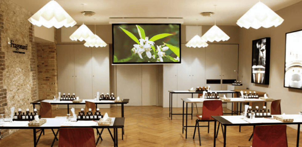 Personnaliser son parfum au Musee du Parfum Fragonard atelier creatif