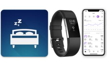 Fitbit bracelet connecté application suivi de sommeil traqueur qualité sommeil