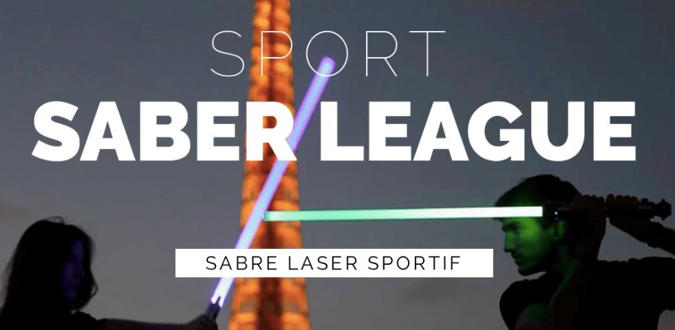 Sport Saber League combats sabre laser
