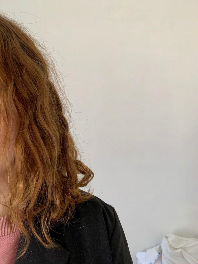 Test cheveux boucles avant