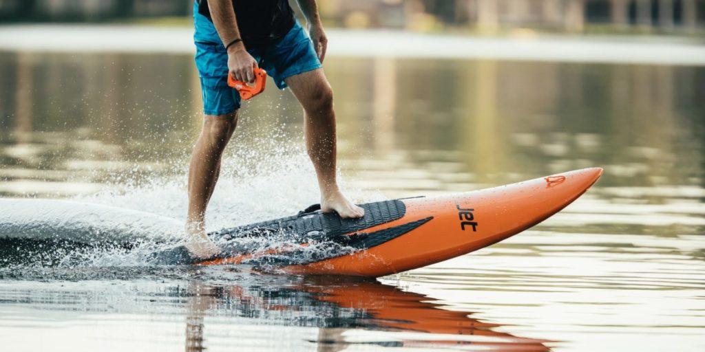YuJet planche de surf electrique