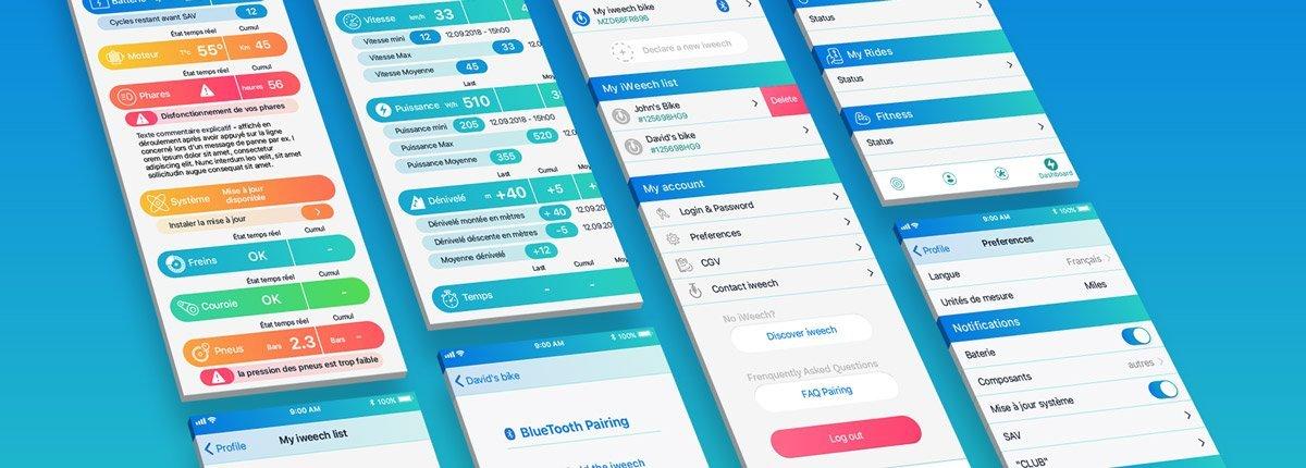 application iweech dashboard