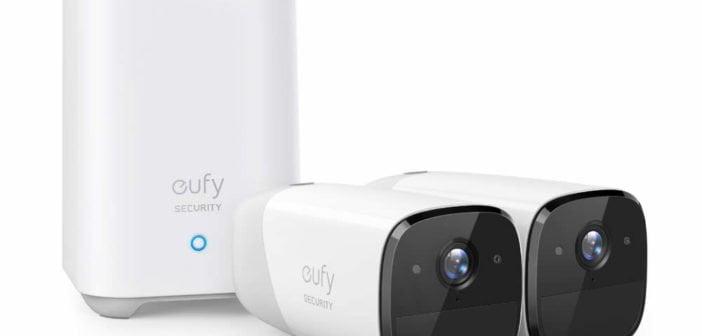Eufy mise à jour caméras de sécurité
