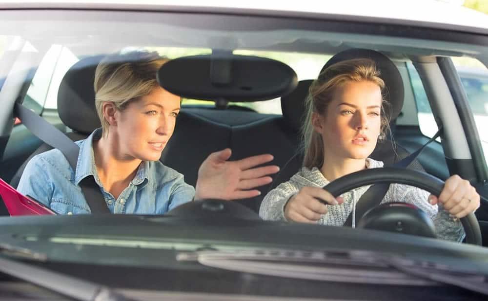 Permis de conduire BEA sur voiture électrique