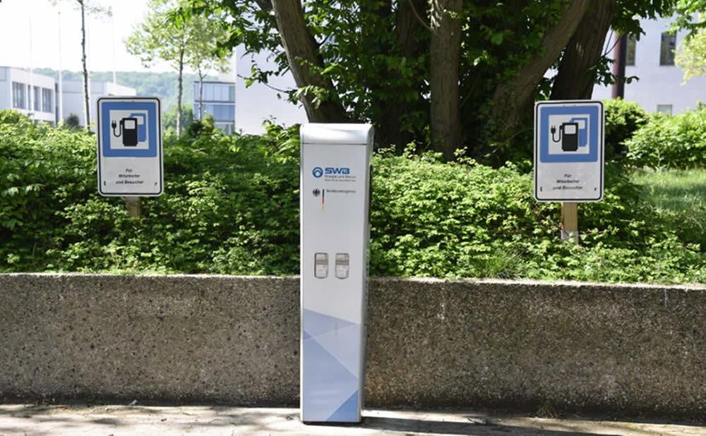 Stations-service Allemagne des bornes de recharge électrique