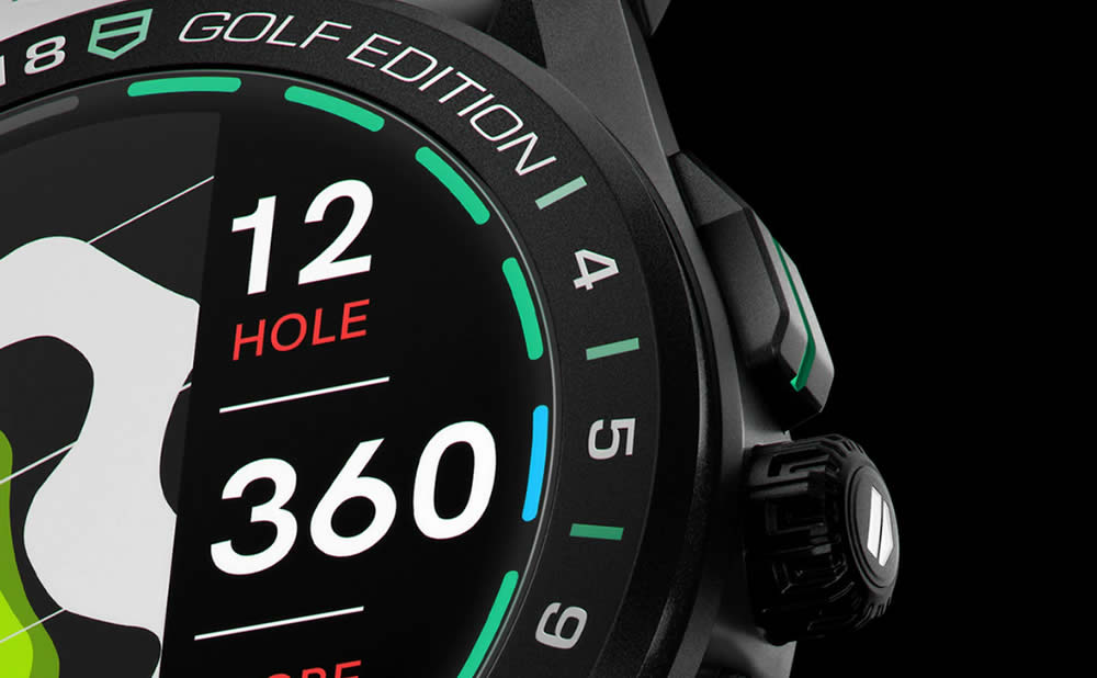 Tag Heuer montre connectée golf