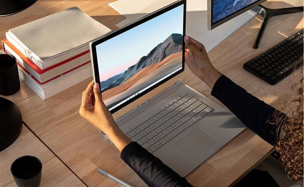 Test du Surface Book 3 de Microsoft