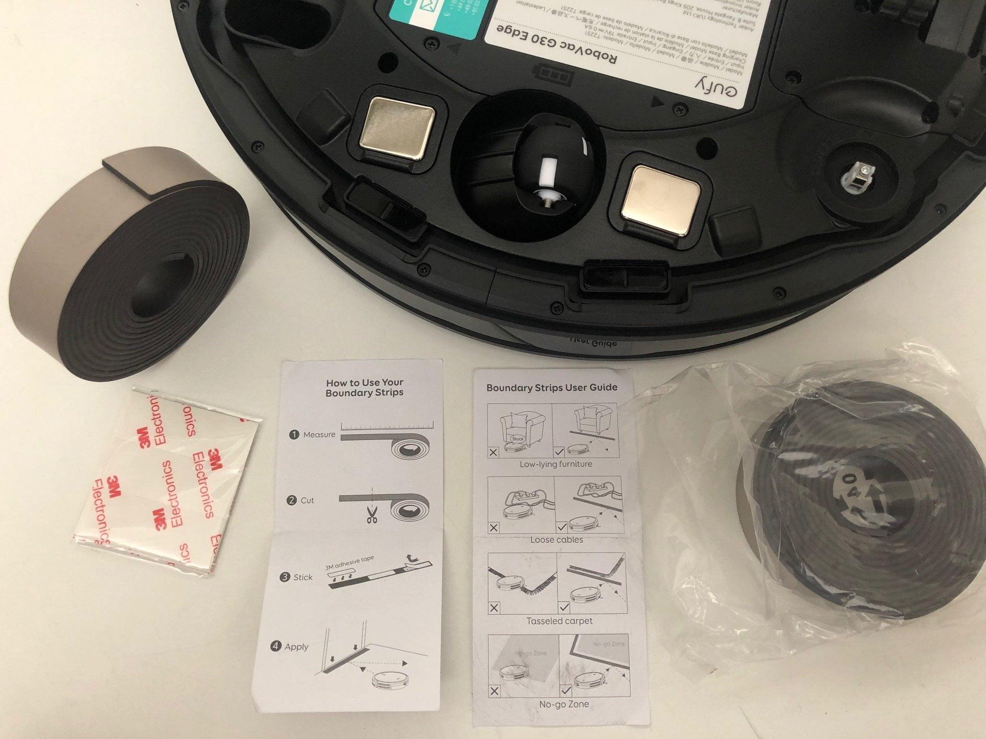 bande magnetique aspirateur robot eufy
