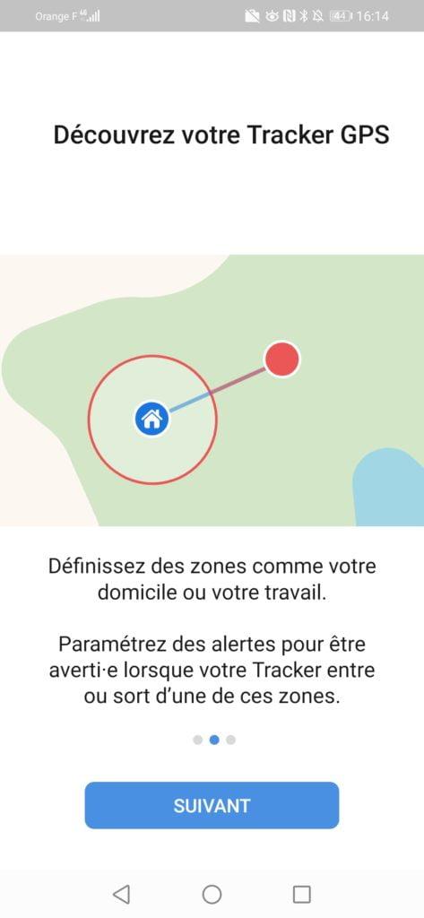 Invoxia zones à définir.track