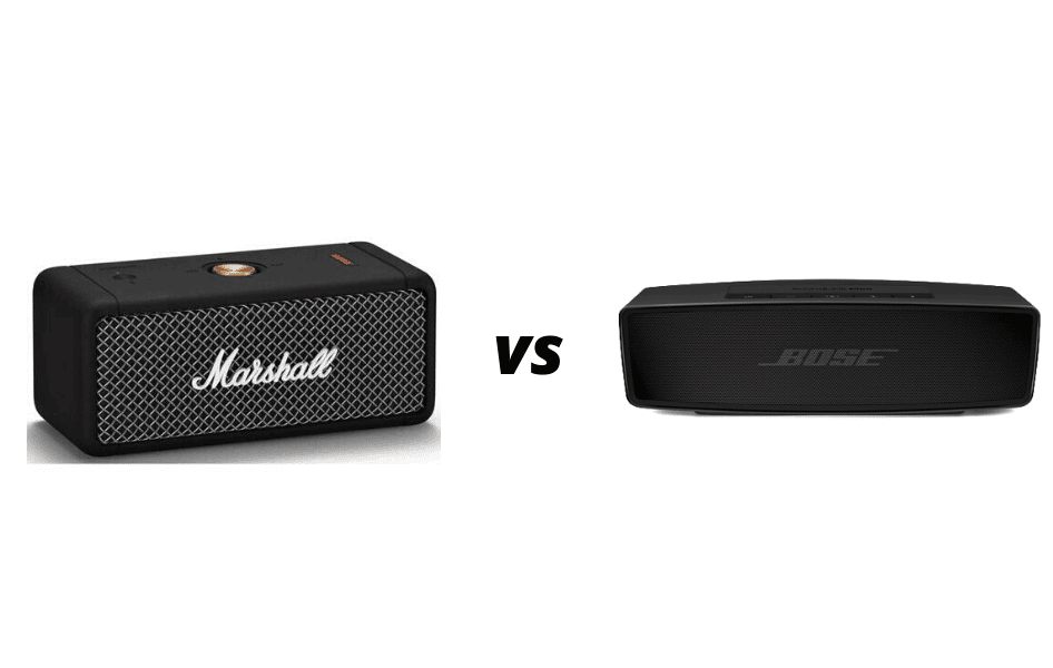 Marshall Emberton VS Bose Soundlink Mini II