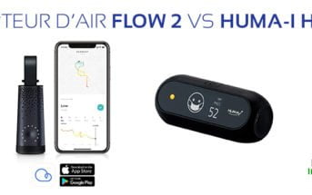 capteur air flow 2 vs huma i