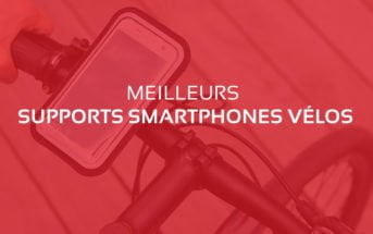 comparatif meilleur support smartphone velo