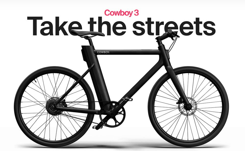 L'entreprise belge de vélos électriques Cowboy vient de lever des fonds