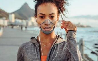 Leaf Mask un masque transparent et homologué pour le Coronavirus