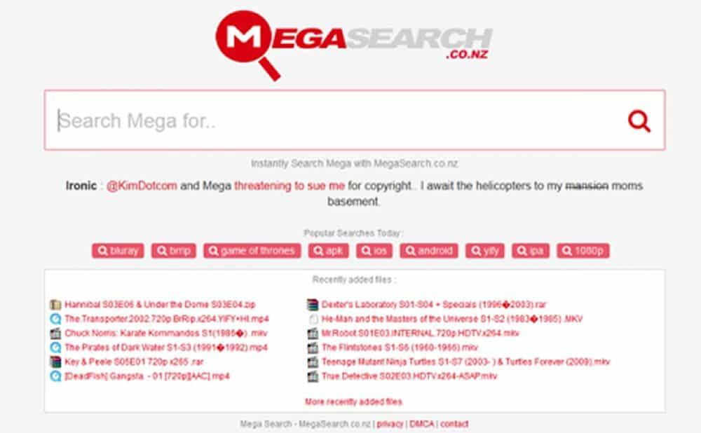 Mega Search alternatives