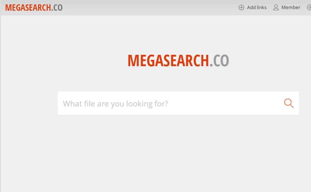 Mega Search illégal fermé