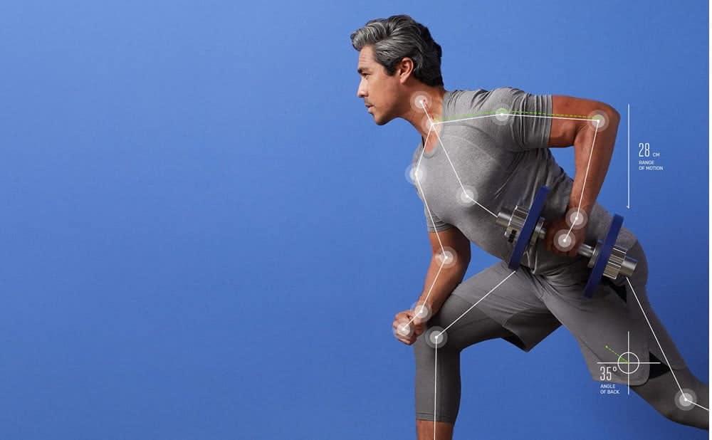 Tempo Studio coach virtuel entraînement à la musculation avec intelligence artificielle