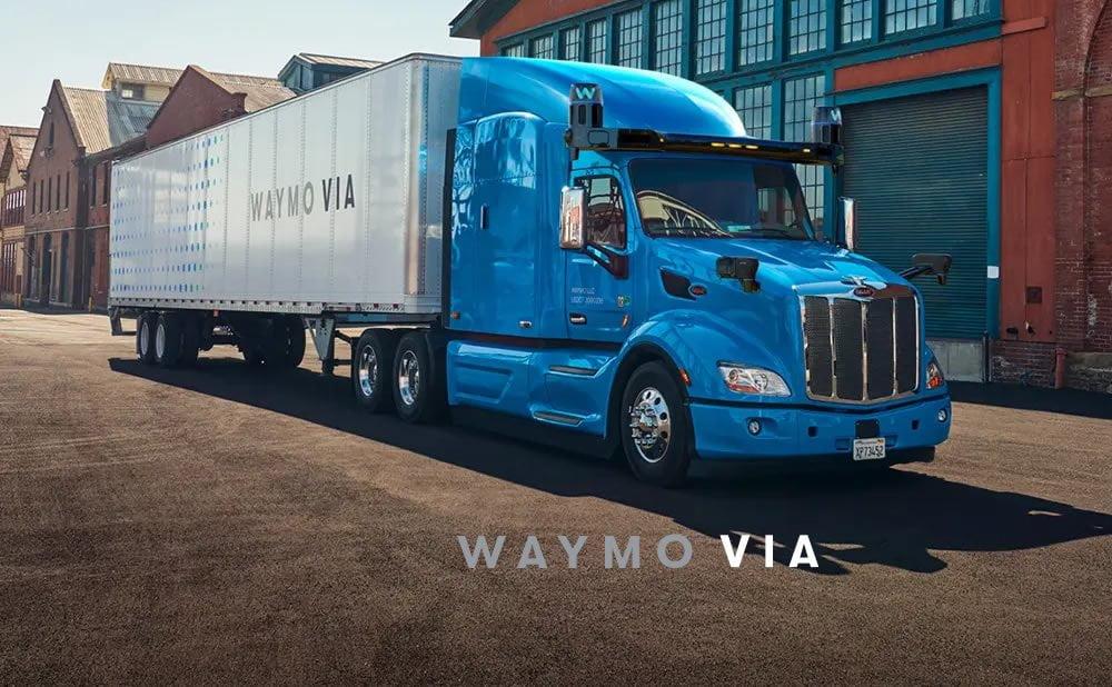 Waymo Via camion autonome