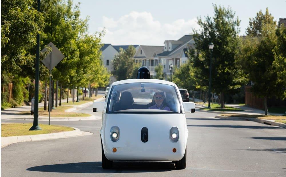 Waymo Google Car voiture électrique autonome sans chauffeur