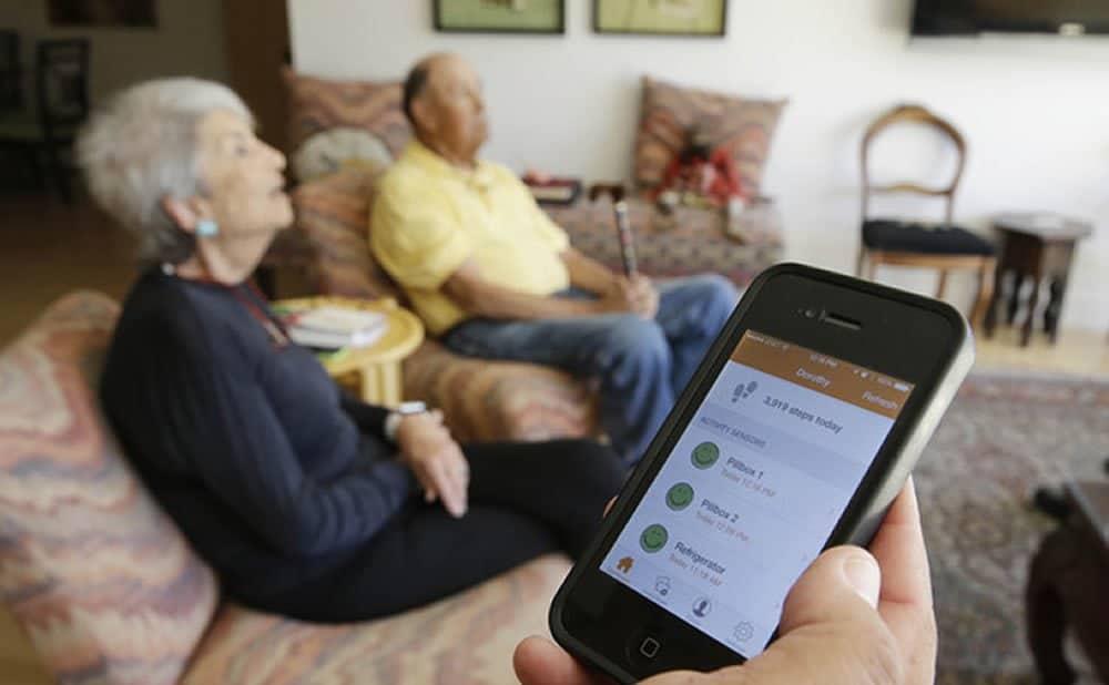 Domotique personnes âgées sénior