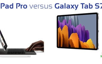 tablette tactile ipad pro vs galaxy tab s7