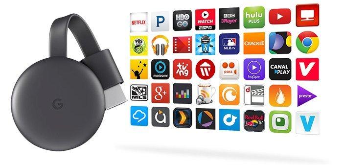 Chromecast : les meilleures applications à installer sur le  lecteur multimédia Google