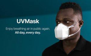 UVMask masque ultraviolets coronavirus covid 19