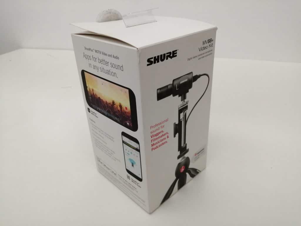 Shure MV88 + box