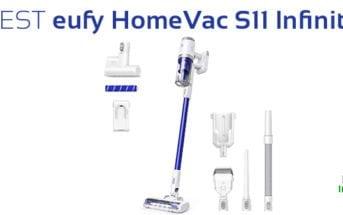 avis test eufy HomeVac S11 Infinity