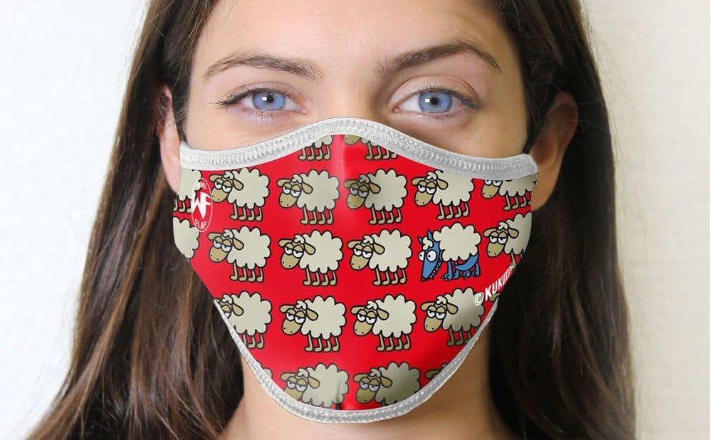 Masque réutilisable personnalisable