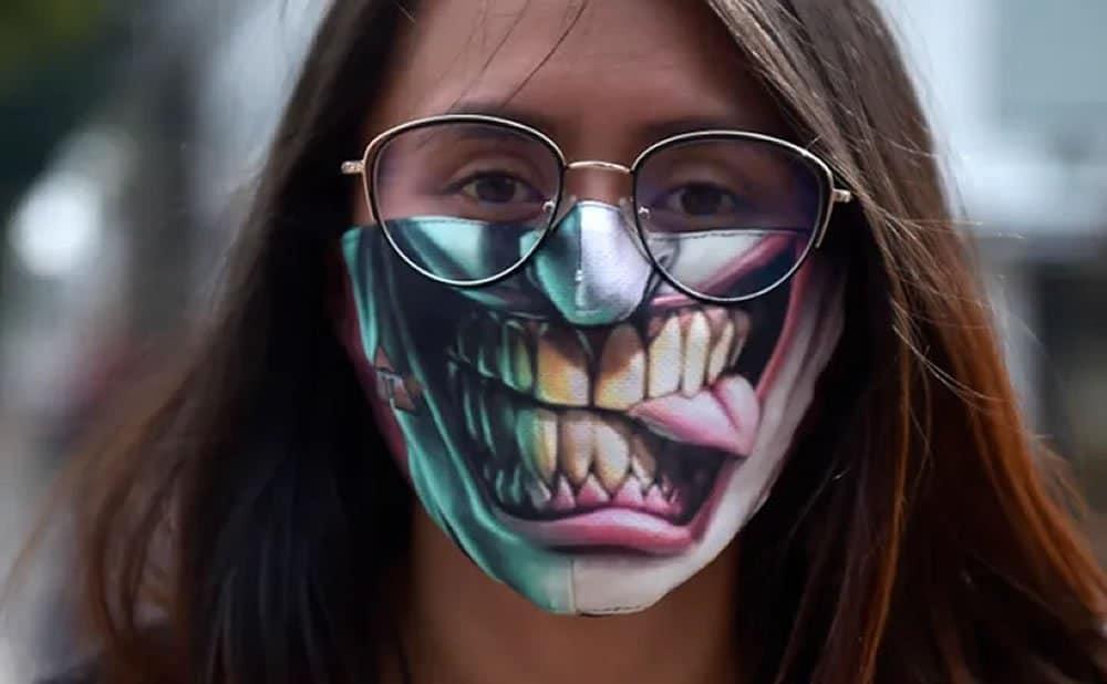 Masques réutilisables rigolo originaux drôles créatifs