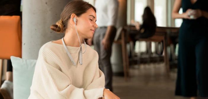 écouteurs sans fil tour de cour sony WI-1000XM2