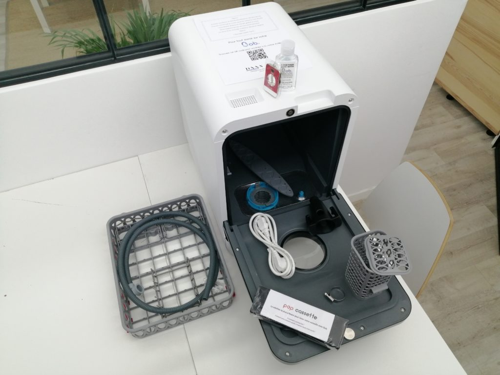 Accessoires mini-lave-vaisselle