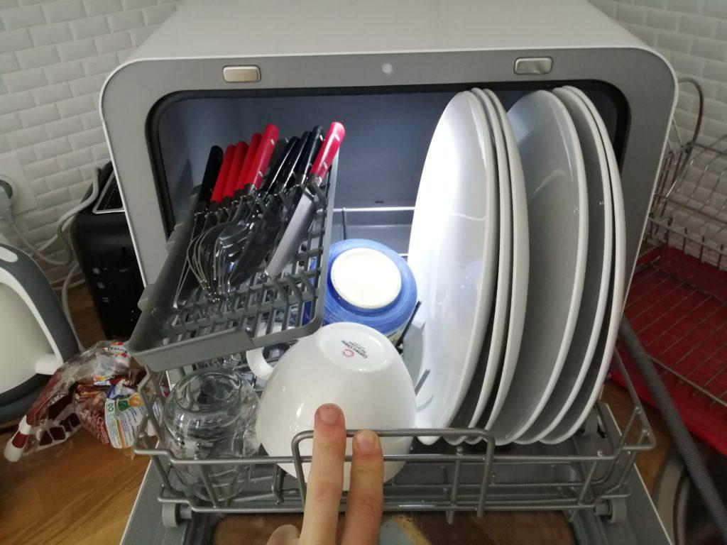 Lave-vaisselle MINID2SL contenance