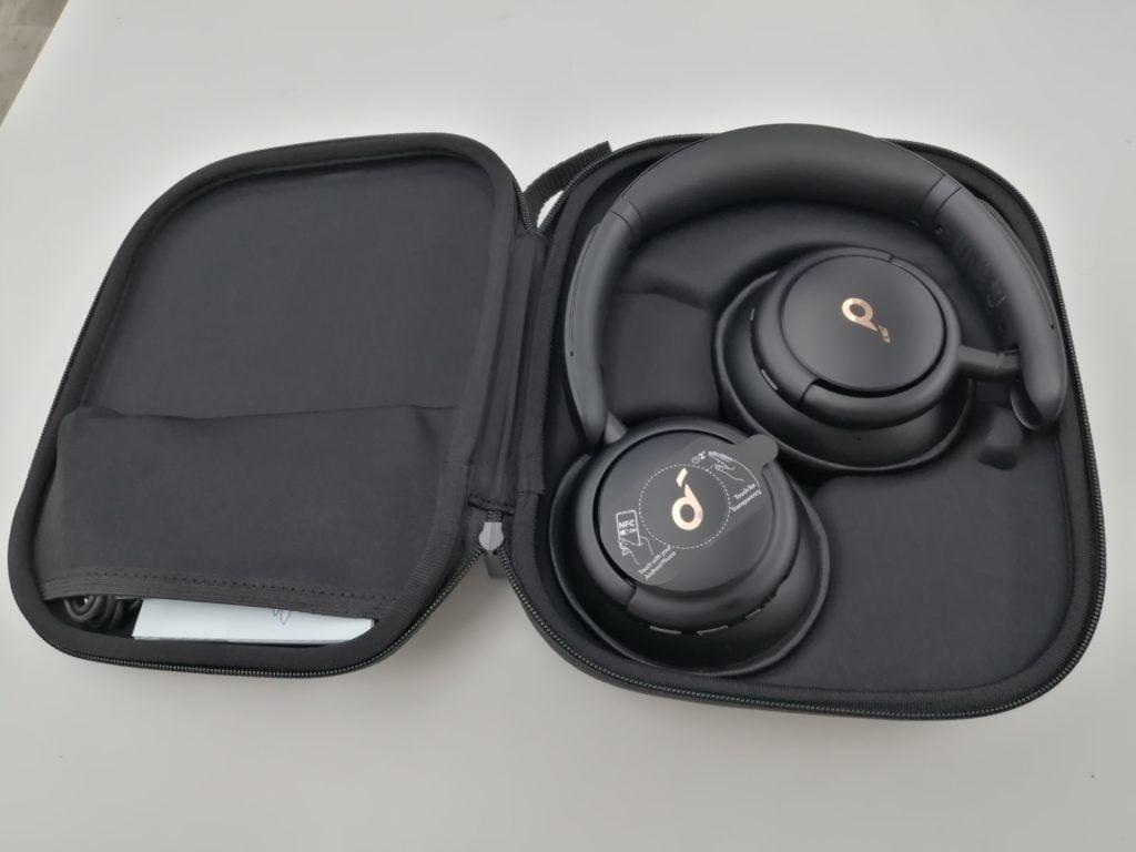 Ouverture Soundcore casque audio Bluetooth