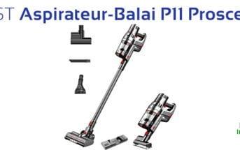 Avis Test Aspirateur Balai P11 Proscenic