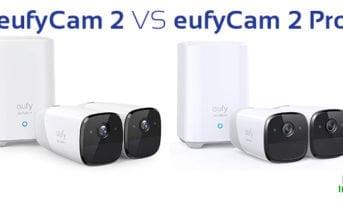 eufyCam 2 VS eufyCam 2 Pro