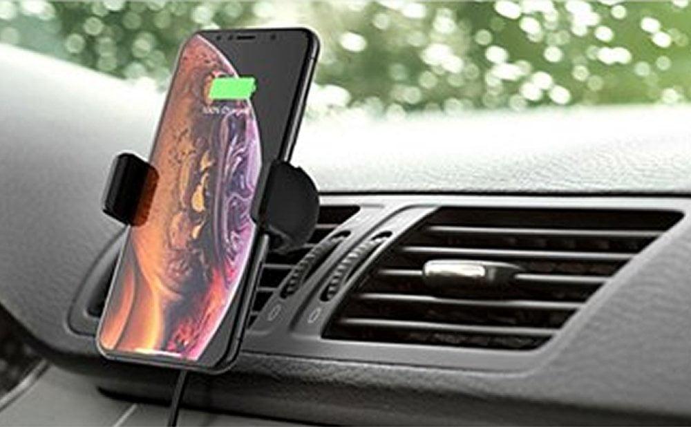 Support chargement sans fil voiture comparatif meilleur