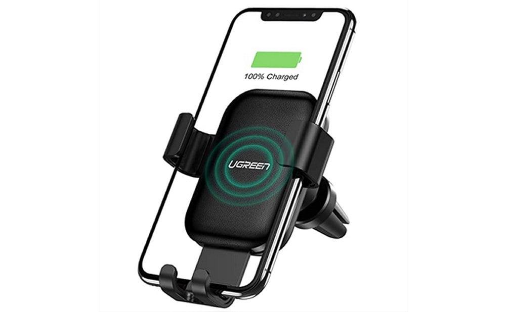 Support chargement sans fil voiture comparatif