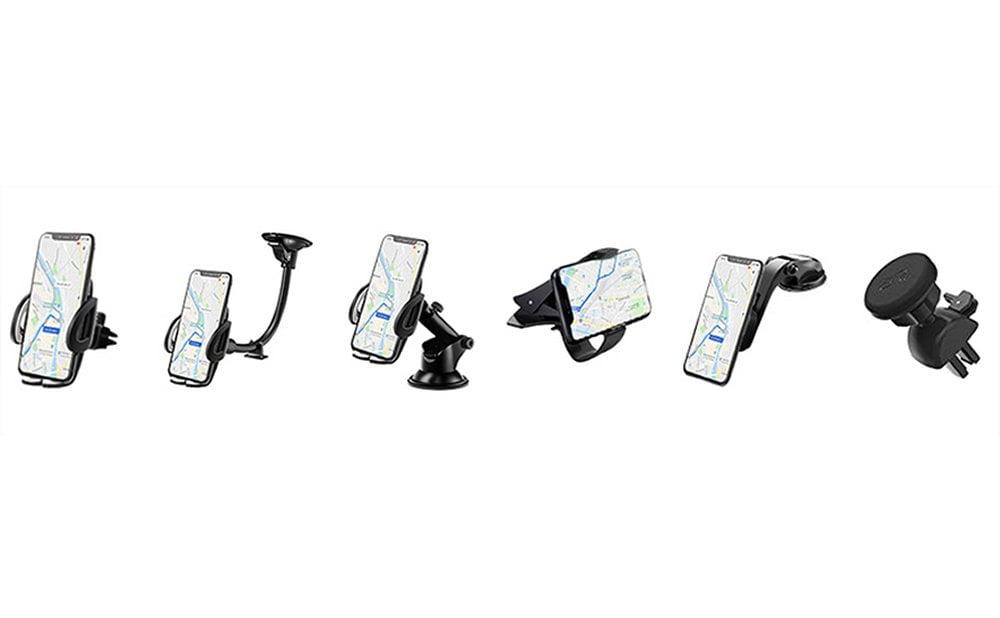 Top des Meilleurs Supports de chargement sans fil voiture pour smartphone