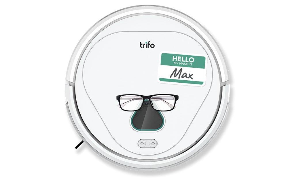 Trifo Max robot aspirateur surveillance de la maison
