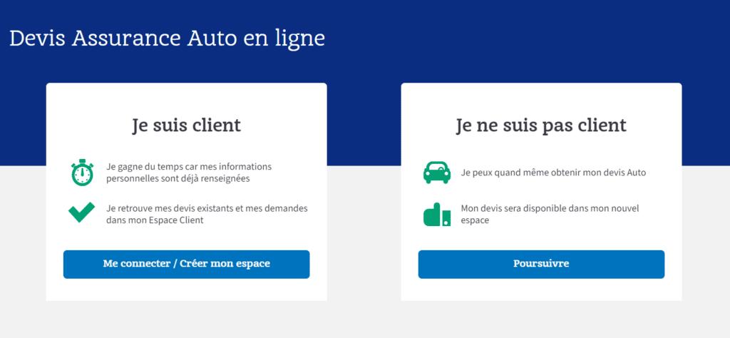 Interface Macif Devis Assurance Auto