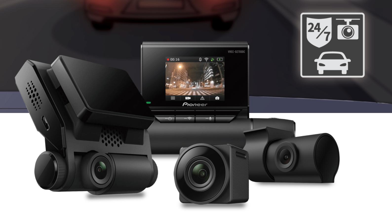 Pioneer vient de lancer 3 nouvelles Dashcams grand public