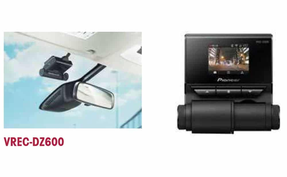 Dashcams Pioneer VREC-DZ600