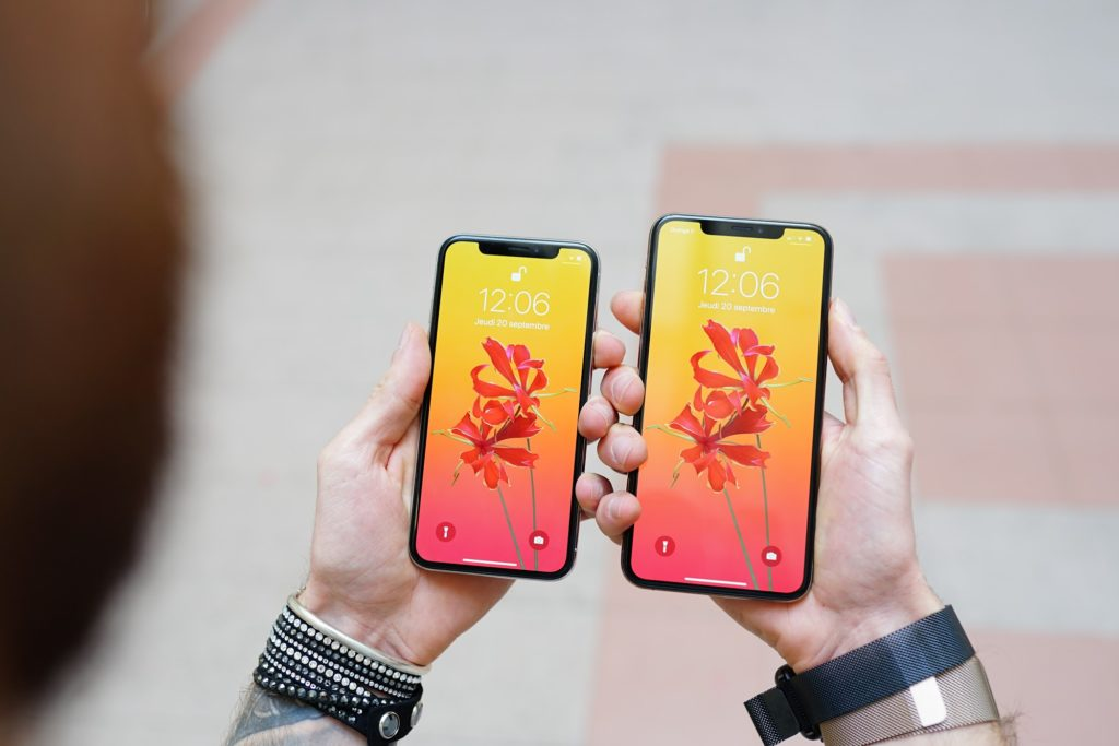 iPhone X et iPhone XR en promo